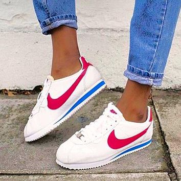 Nike Nike Classic Cortez Forrest Series White Blue Red