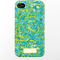 iPhone 4/4s Cover- Delta Delta Delta - Lilly Pulitzer