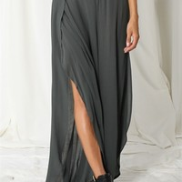 Wide Leg Tulip Pants