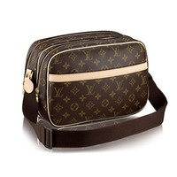 Louis Vuitton Monogram Canvas Reporter PM Adjustable Handbag Article: M45254