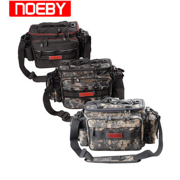 NOEBY Fishing Bags Waterproof  27.5*11*21cm Multi-purpose FishTackle Backpack Waist Bag Bolsa Pesca De Peche Vissen Zakk Sac
