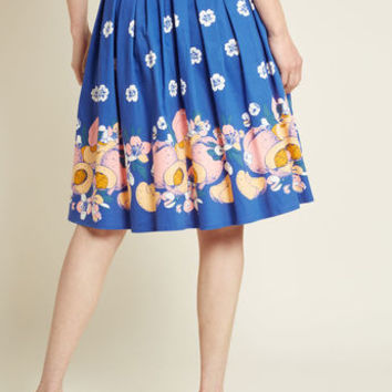 Banned Bounty of Originality A-Line Skirt