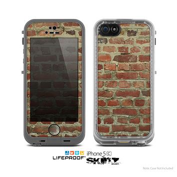 The Brick Wall Skin for the Apple iPhone 5c LifeProof Case