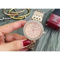 MK Ladies Trending Men Fashion Quartz Watches Wrist Watch Rose gold G