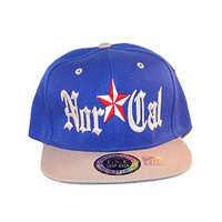 Loyal Cloth NorCal Blue Gray Snapback Hat