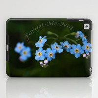 Forget Me Not iPad Case by Steve Purnell