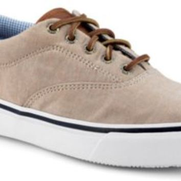 Sperry Top-Sider Striper CVO Chambray Sneaker TanChambray, Size 9.5M  Men's Shoes