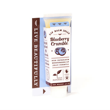 Blueberry Crumble - All Natural Lip Balm Jelly