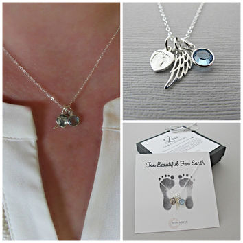 Sympathy Gift, Memorial Gift, Loss of Child, Pregnancy Loss, Loss of Baby, Gift for Loss of Child, Gift for Loss of Baby, Angel Wing