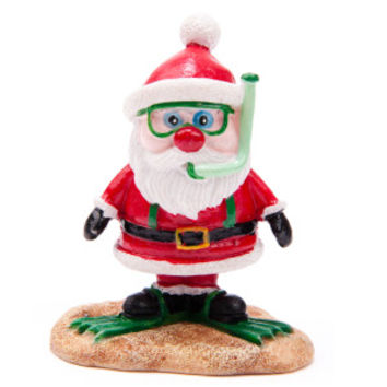 Top Fin® PetHoliday™ Santa Snorkel Ornament - Decorations - Fish - PetSmart