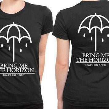 Bring Me The Horizon That The Spirit Umbrella Cover 2 Sided Womens T Shirt