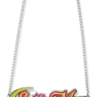 Sailormoon Sailor Moon Big Logo Metal Necklace