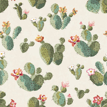 Insufferable Succulents Removable Wallpaper