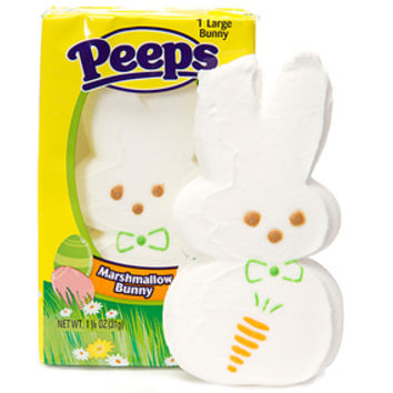 Peeps Giant Marshmallow Bunnies: 24-Piece Case