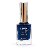 Blue Ink NYX Girl Nail Polish