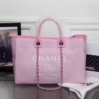 Chanel Women Shopping Leather Tote Crossbody Satchel Shoulder Bag H-3A-XNRSSNB