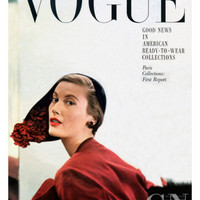 Vogue Cover - September 1949 Poster Print by Frances Mclaughlin-Gill at the Condé Nast Collection