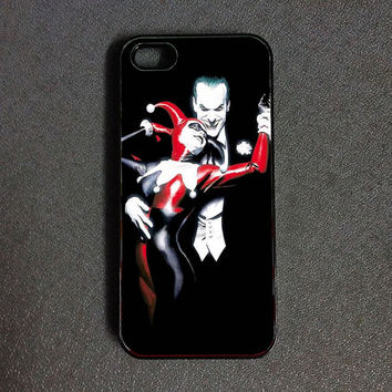 The joker and Harley Quinn iPhone 6 case