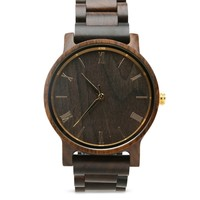 Wooden Watch | The Curtis Gold