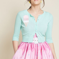 Collectif Scoop Project Cropped Cardigan