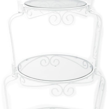 "graceful tiers cake stand - 14.5"" x 29.5"""