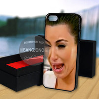 Kim Kardashian Cry Ugly Face case for Note 2,3-iPod 4th 5th-iPhone 5,5s,5c,4,4s,6,6+[ 2Gtk ]-LG Nexus-HTC One-Samsung Galaxy S3,S4,S5