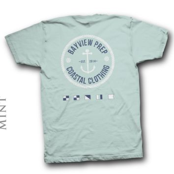 Anchor Shirt in Mint
