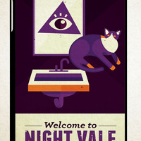 Good Night Night Vale Y0806 iPad 2 3 4, iPad Mini 1 2 3, iPad Air 1 2 , Galaxy Tab 1 2 3, Galaxy Note 8.0 Cases