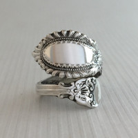 Size 5.5 Vintage Sterling Silver Reed & Barton Spoon Ring