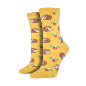 Gold Hedgehog Socks