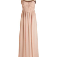 ModCloth Long Strapless Maxi For Your Consideration Dress
