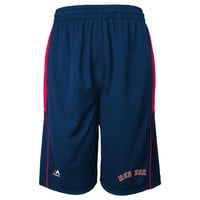 Majestic Boston Red Sox Batters Choice Shorts - Boys 8-20, Size:
