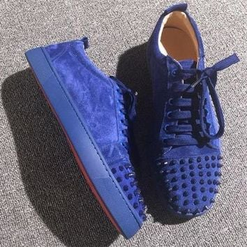 Cl Christian Louboutin Low Style #2070 Sneakers Fashion Shoes