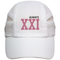 Always 21 Roman Numeral Running Hat: Cool World Customized Gifts