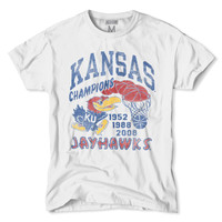 Kansas Basketball National Championships T-Shirt