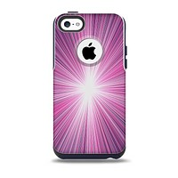 The Bright Purple Rays Skin for the iPhone 5c OtterBox Commuter Case