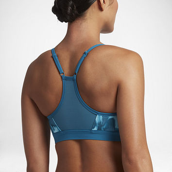 The Nike Indy Wipeout Women's Light Support Sports Bra.