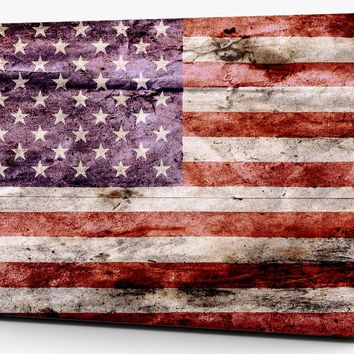 American Flag Distressed Vinyl Laptop Computer Skin Sticker Decal Wrap Mackbook Various Sizes