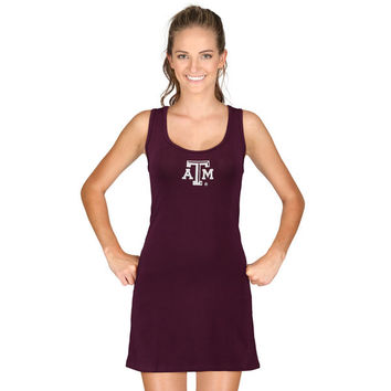 Texas A&M Aggies chicka-d Women's Tank Dress - Maroon