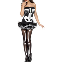 Fever Skeleton Halloween Costume LAVELIQ