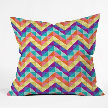 Jacqueline Maldonado Chevron Facet 1 Throw Pillow