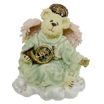 Boyds Bears Resin Harmony Angelsong Heavenly Music Figurine