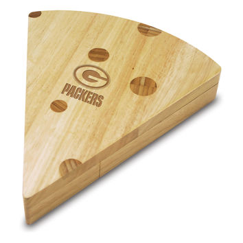 Green Bay Packers - Swiss Cheese Board & Tools Set