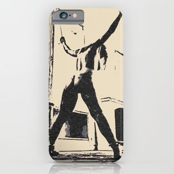 Bad girls deserve punishment, sweet sweet pain, BDSM, bondage, dark whipping pose, sexy girl nude iPhone & iPod Case by Peter Reiss