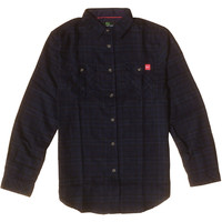 Talbot Flannel Midnight Navy