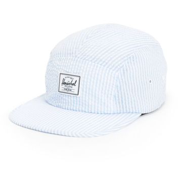 Herschel Supply Glendale Classic Seersucker 5 Panel Hat