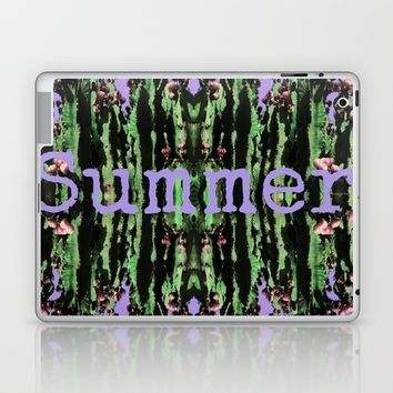 Reflections Of Summer Cacti Laptop & iPad Skin by Louisa Catharine Photography And Art