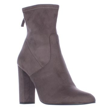 Steve Madden Brisk Stretch Ankle Booties, Grey, 11 US