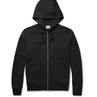 Acne Studios - Johna Loopback Cotton-Jersey Zip-Up Hoodie