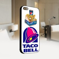 Taco Bell Box - For IPhone 4 or 4S Black Case Cover